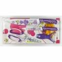 A475 Кухонный набор: 2 ножа + экономка + ножницы