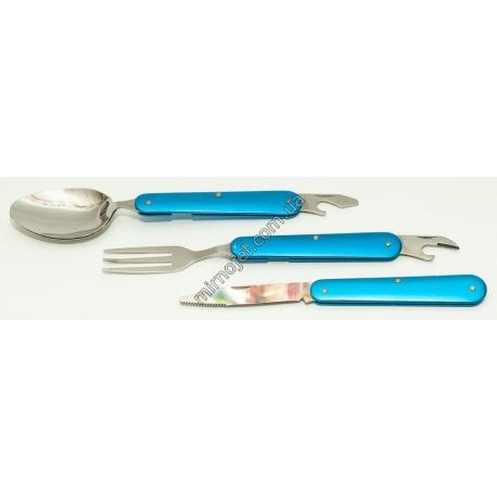 F49 Набор туристический (нож, вилка, ложка)