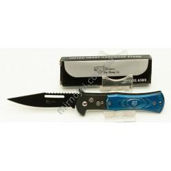 M4 (синий) Нож раскладной