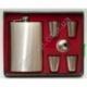 E168 Подарочный набор: фляга + лейка + 4 стопки в чехле