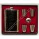 A509 Подарочный набор: фляга + лейка + 4 стопки в чехле
