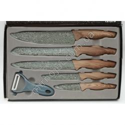 A468 Кухонный набор: 5 ножей + экономка